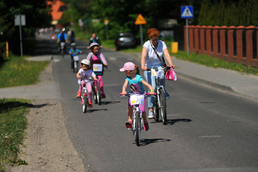 dzieciaki rower